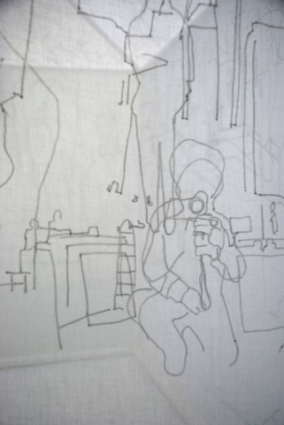 'Live Tracing' (detail)