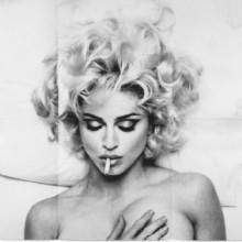 Folded Madonna Poster (Steven Meisel)