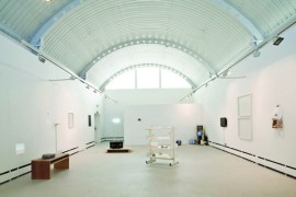 Installation view of Wysing Arts Centre Gallery