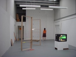 installation view of solo exhibition at  S1 Artspace, Sheffield, 2006
