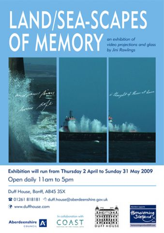 Land/seascapes of memory