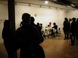 Fay Incorporated, performance at ?art art art? first birthday, 2008
