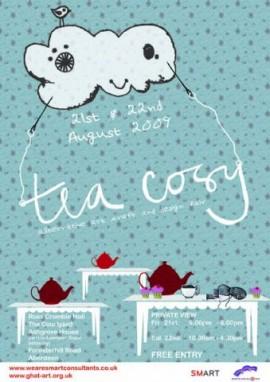 Teacosy 2009, alternative art craft & design fair, Poster