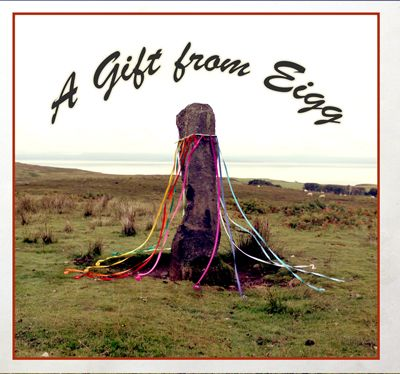 """Sheep Maypole"" part of the ""A Gift from Eigg"" sticker series"