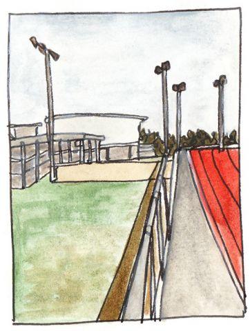 Marks Hall Athletics Track
