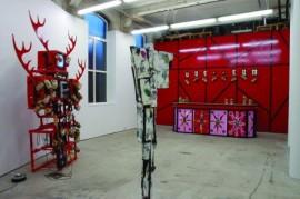 Installation view from BAR VUG GUM