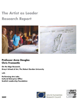 Artist as Leader Research Report