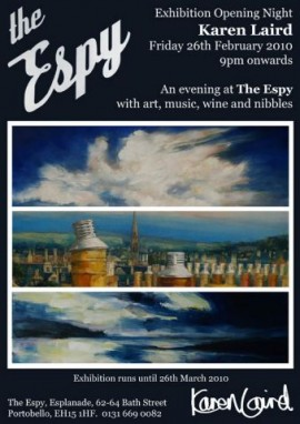 Karen Laird exhibition opening