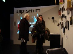 wip:sthlm stand at Supermarket 2010