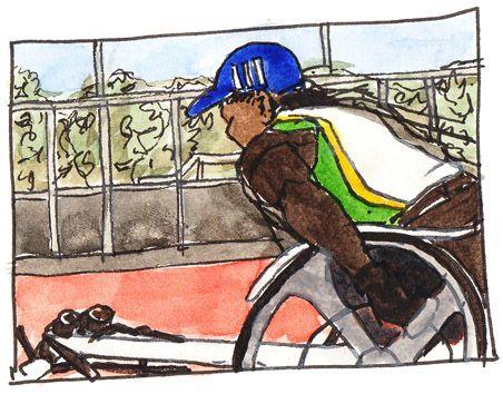 Anne racing