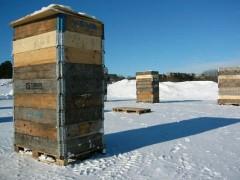 Snow sculpture blocks
