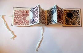 stitched cell book