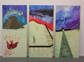 Degree Show Paintings