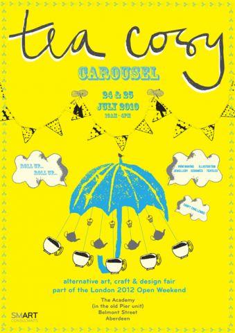 'Tea Cosy Carousel' Poster