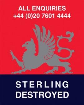 Sterling Destroyed