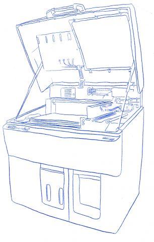 WIP RP Machine Hand Drawn Precision