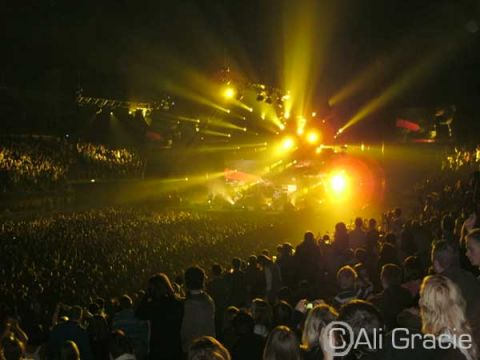 Lighting at Stereophonics Concert