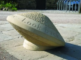 Companion Stone at Longshaw Gate
