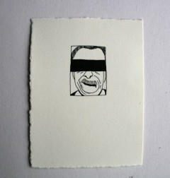 64 almost identical drawings of Josef Fritzl [detail]