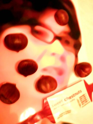 Claire Fox with Sweet Chestnuts