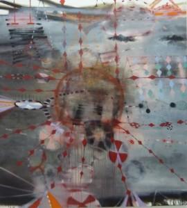 Virginia Verran 'Grey-Red (stealth-theft)' 2010 Courtesy the artist