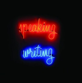 Speaking writing