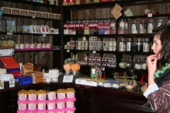 Sweet shop at Llechwedd