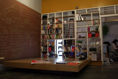 The Public School's Los Angeles base at Telic Arts Exchange