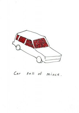 Car full of mince