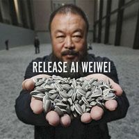 Release Ai Weiwei campaign poster