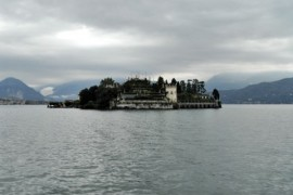 Isola Bella Island from Lake