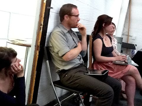 Andrew Bryant at the June AIR Salon