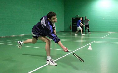 Badminton Court: Loughborough University
