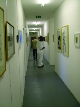 Open studio exhibition at Blackhorse Lane Studios