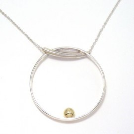 Gold Ball Pendant