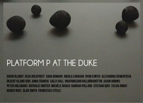 Invitation for Platform P @ The Duke