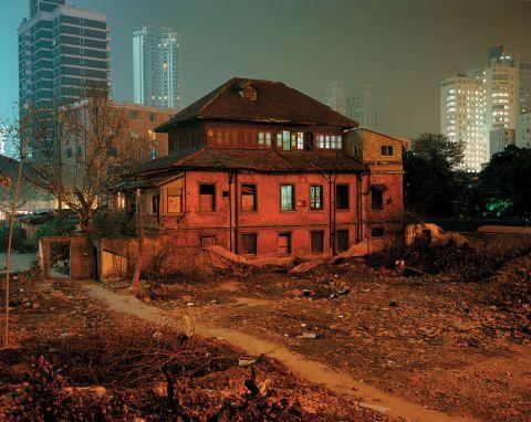 House on Huashan Lu, North View, Lane 322, Huashan Lu,