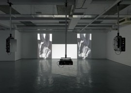 Installation view, Hilary Lloyd, Sadie Coles, London