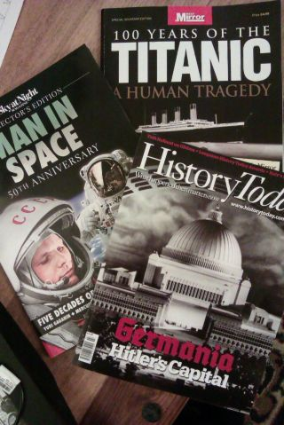 New history magazines added to my collection