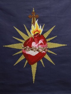 The Heart of a Heartless World (Cross-stitch)