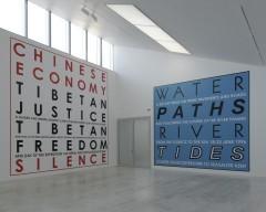 Hamish Fulton: Walk -Installation View