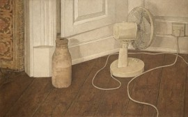 Still life with electric fan