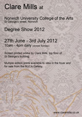 NUCA Fine Art Degree Show 2012
