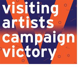The Visiting Artists Campaign banner