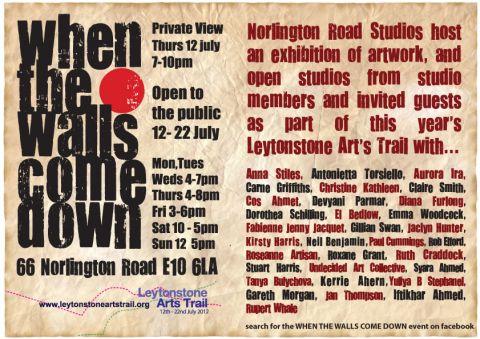 Invitation to Leytonstone Arts Trail