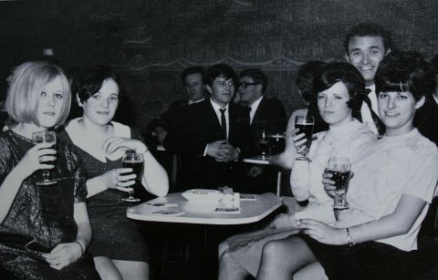 Dot and pals in the sixties