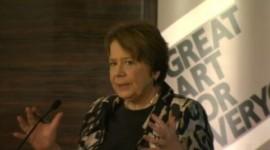 Arts Council England Chair Liz Forgan