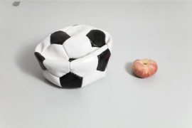 What did the Football say to the Peach?