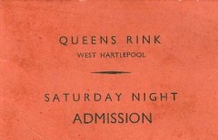 an early Rink entry ticket