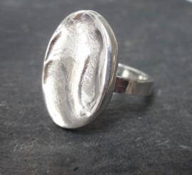 Organic Silver Ring.